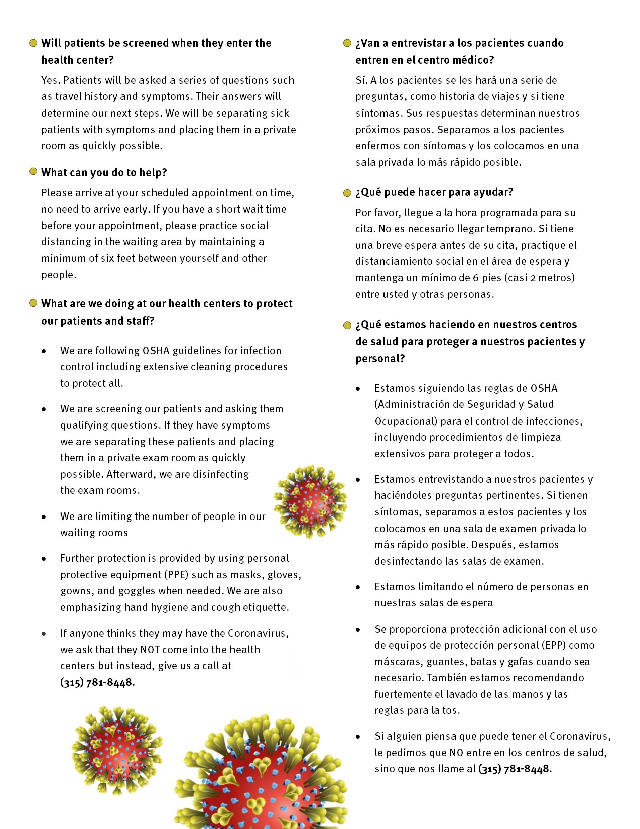 Coronavirus Frequently Asked Questions Local Community Health